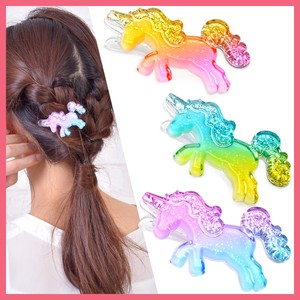 lame Unicorn Hair Clip