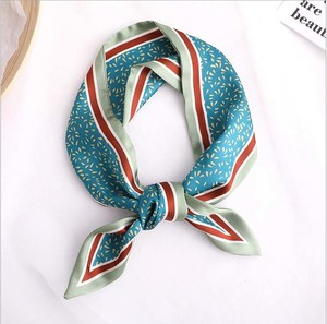 Unisex Print Long Scarf Ribbon 2 Colors