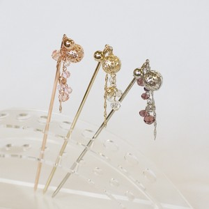Metal Ball Cut Glass Falling Kanzashi