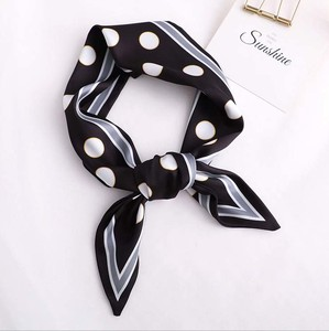 Unisex Dot Long Scarf Ribbon 3 Colors