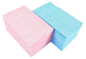 Antibacterial Counter Closs Thick Pink 60 Pcs