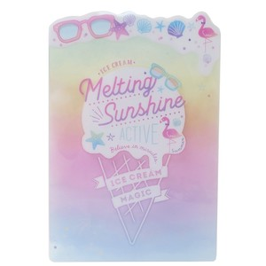 Stationery plastic sheet Pop Die Cut Stationery plastic sheet Shine