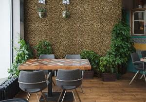 【壁材】Wood Mosaic ナチュラトープ