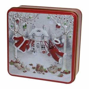 ★先行受注・クリスマス2020★ サンタクロースの休日 缶