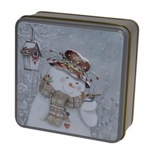 ★先行受注・クリスマス2020★ スノーマン 缶