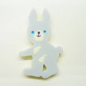 Rabbit Whole Body Brooch