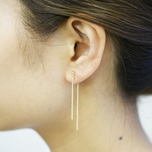 Chain Resin Hall Earring