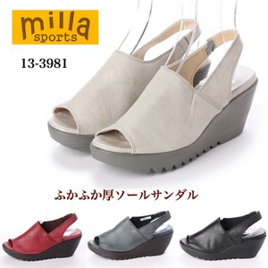 new product 3E Fluffy Sole Sandal