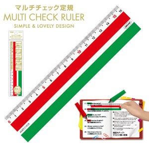 Multi Checkered Ruler