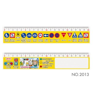 Traffic A Sign Line Ruler