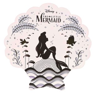Die Cut Beach Towel Ariel Mirror Shell