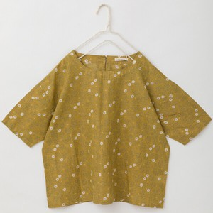 S/S peniphass Floret Pattern Print Blouse