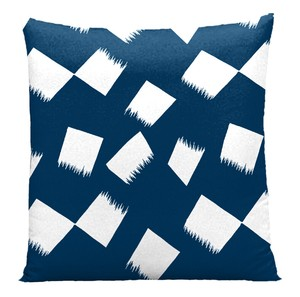 Hayate Cushion Cover Floor Cushion Cover Blue