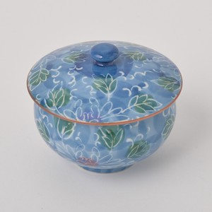 HASAMI Ware Repellent Flower Pumped Out With Lid Hot Water Swallowing Hand-Painted