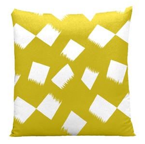 Hayate Cushion Cover Floor Cushion Cover Yellow