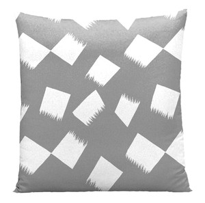 Hayate Cushion Cover Floor Cushion Cover Gray