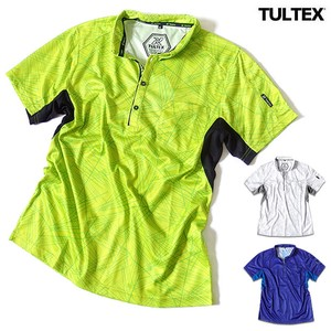 TULTEX Feeling Sport Deodorize Effect Attached Dry Material Repeating Pattern Polo Shirt