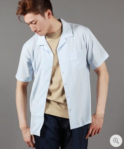 Rayon Plain Open Color Shirt