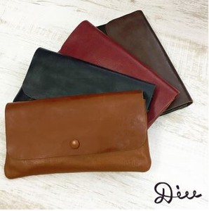 Leather Long Wallet Genuine Leather Wallet Long Wallet Natu