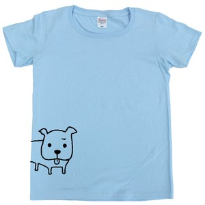 SHINZI KATOH Short Sleeve T-shirt Light blue