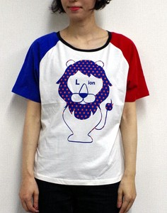 Short Sleeve Raglan T-Shirt Dot LION