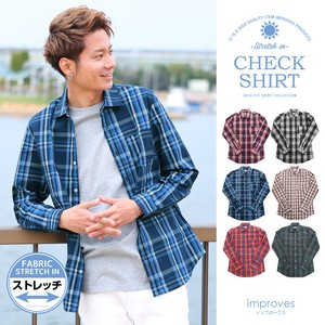 Stretch Checkered Shirt