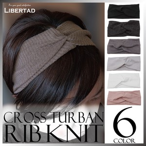 S/S Closs Turban Hair Band Knitted A/W Ladies Fancy Goods