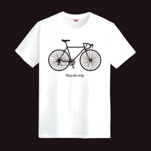 Designer T-shirt Bicycle Trip
