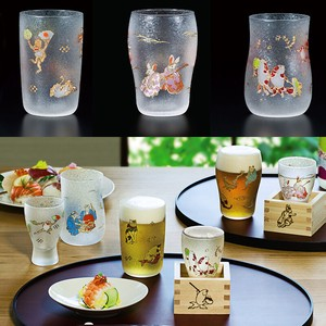 Made in Japan ANIMALS Craft Glass Fancy Box