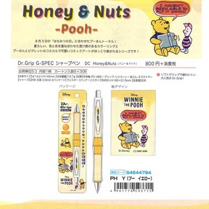 Dr.Grip Mechanical Pencil Chip 'n Dale Snoopy