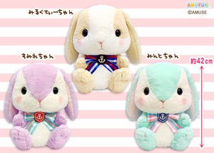 """Poteusa Loppy"" Rabbit Soft Toy Marie Big"