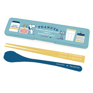 PEANUTS LUNCH SERIES KITCHEN CHOPSTICKS & SPOON SET