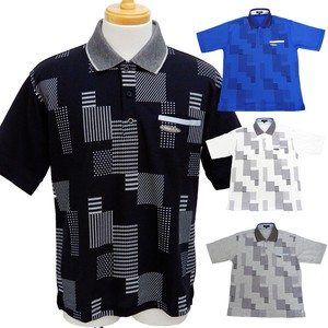 77f73914 the wholesale prices. Men's Geometry Short Sleeve Polo Shirt Bodice  Geometry Short Sleeve Polo Shirt 4 Colors