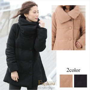 Wool Soft Touch Charm Down Coat