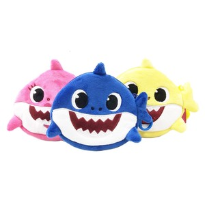Korea Imports Shark Soft Toy Pouch Imports