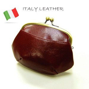 Italy Leather Coin Purse Wallet