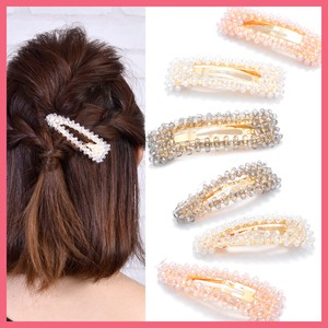 Clear Beads Three pin