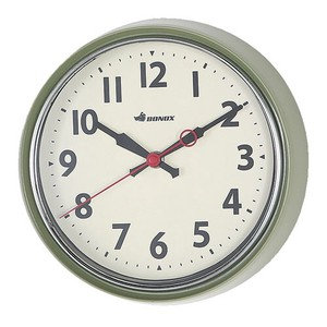 [DULTON] Wall Clock Green
