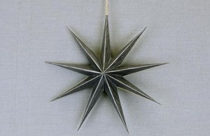 Paper Star Clothes Hanger