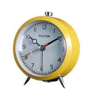 [DULTON] Clock YELLOW
