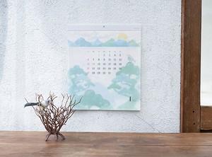 【予約販売】グラシンペーパーカレンダー さとやま