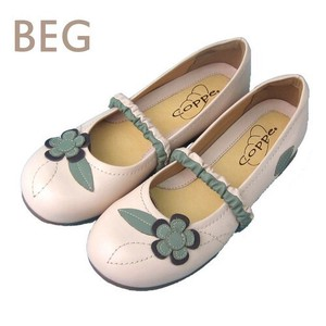 Genuine Leather Flower Casual Shoe Genuine Leather