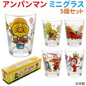 Anpanman Mini Glass 5 Pcs Cup Cup