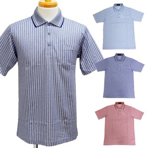 0882bdc3 the wholesale prices. Men's Short Sleeve Line Polo Shirt Birdseye Stripe Polo  Shirt 3 Colors