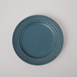 HASAMI Ware Rosemary Plate Denim Color Plate