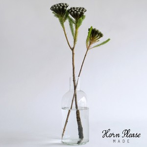 Glass Flower Vase Fan