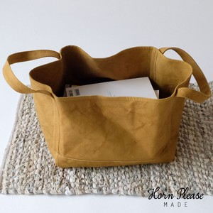 Canvas Tteok Handle Basket