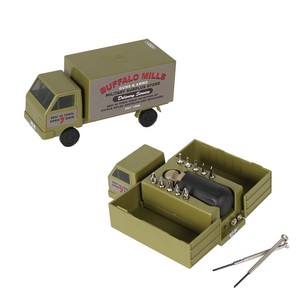 "[DULTON] Tool Kit Box ""Military truck"""