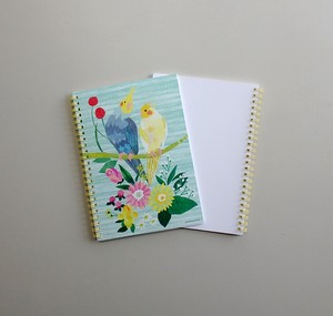 Ring Notebook Parakeet