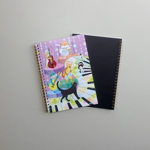 Ring Notebook cat Band